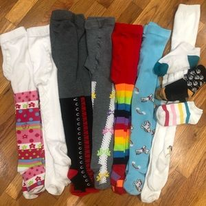 Bundle of Girls Stockings and Socks